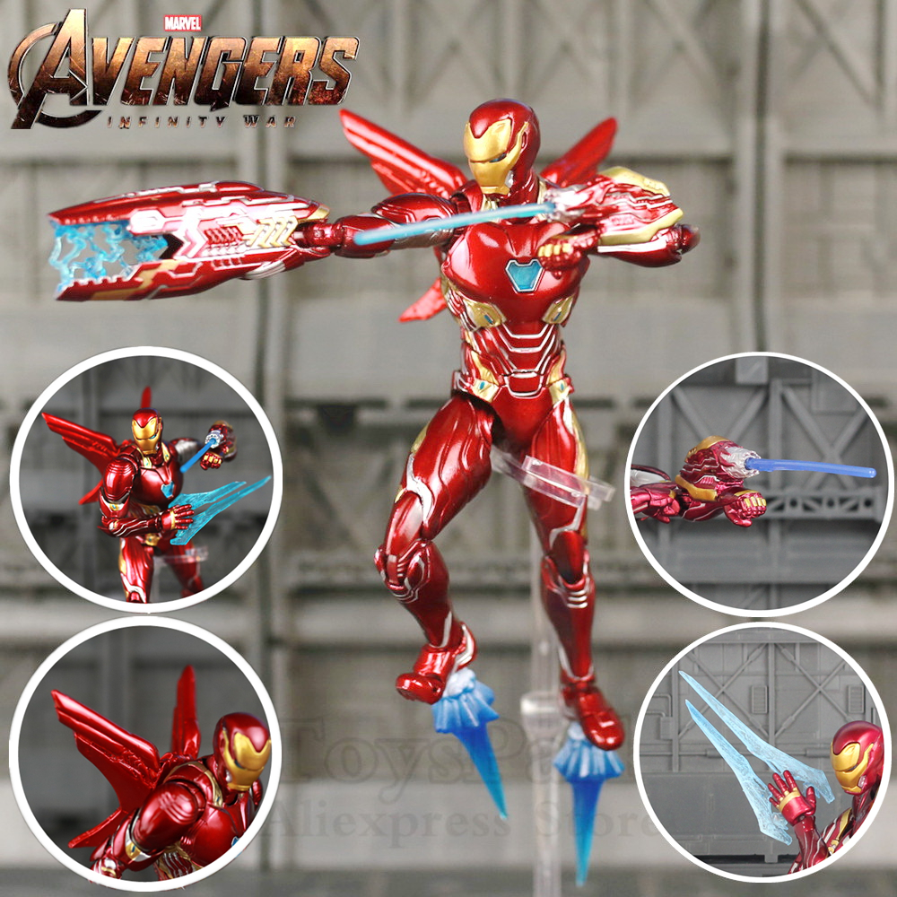 SHF S.H.Figuarts Avengers Tony Stark Iron Man 3 Action Figure New with Box
