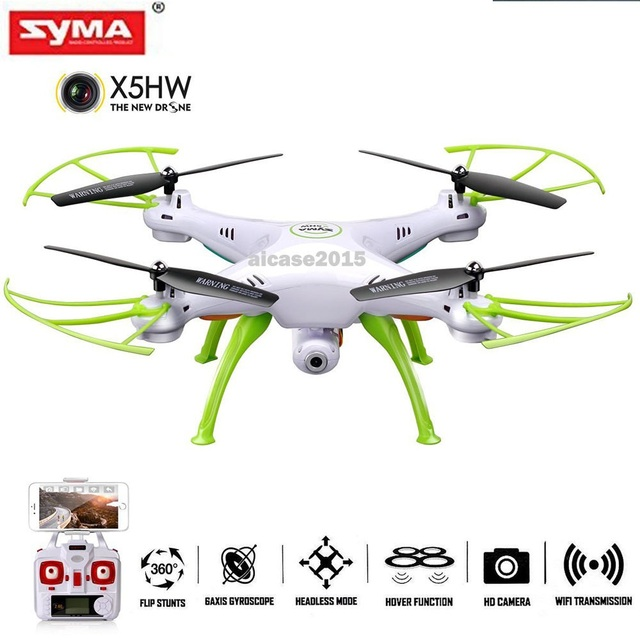 Original Syma X5HW 2.4G RC Drone RC quoadcopter with HD Camera FPV 2.4G 4CH RC Helicopter