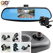 Car DVR Camera HD 1080P 30FPS Car DVR Video Recorder Dual Camera Record Original Bracket Rearview Mirror Monitor Black Box