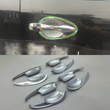 цена на Car Accessories Exterior 8pcs ABS Chrome Door Handle Bowl Cover Trims For Nissan Altima 2016 Car Styling