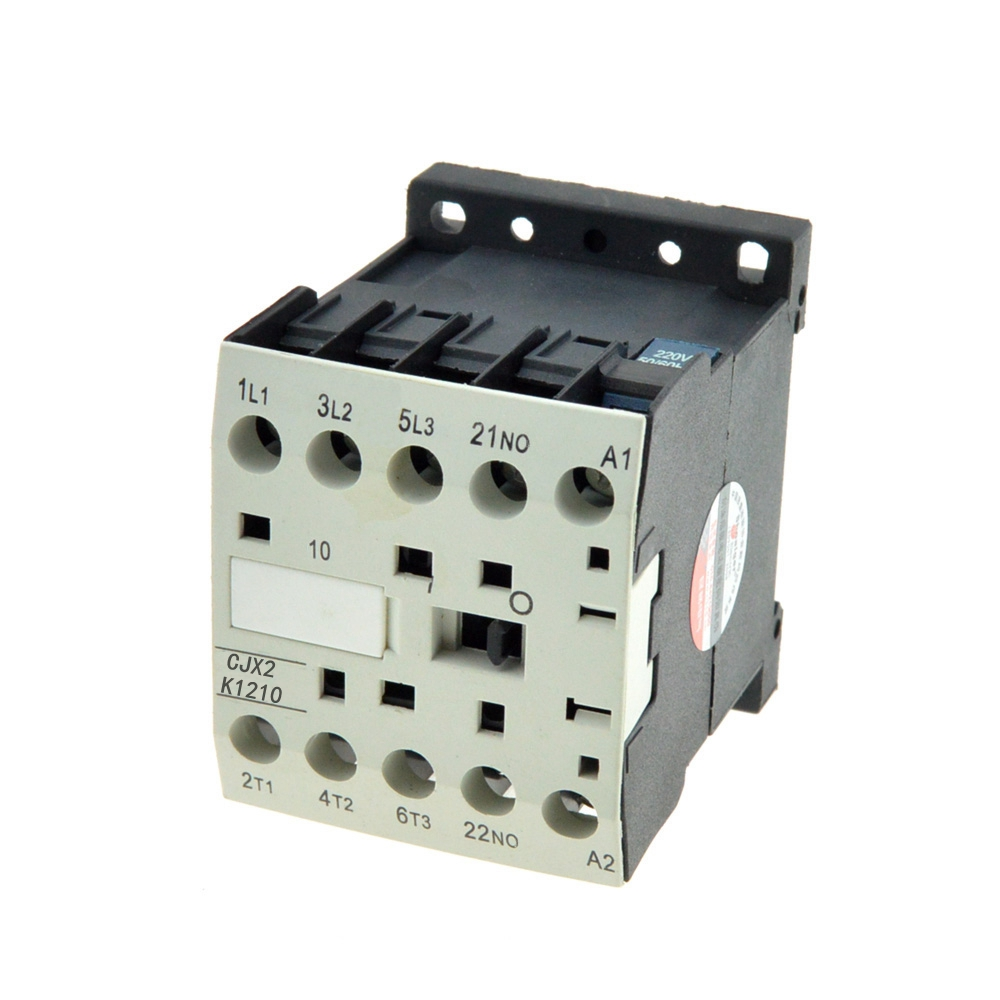 цена на 3 Phase 12A Rated Curent 3P 3 Pole 1NO AC Contactor Relay Ui 660V 24V 110V 220V 380V Coil Volt Contactors 35m DIN Rail Ith 20A