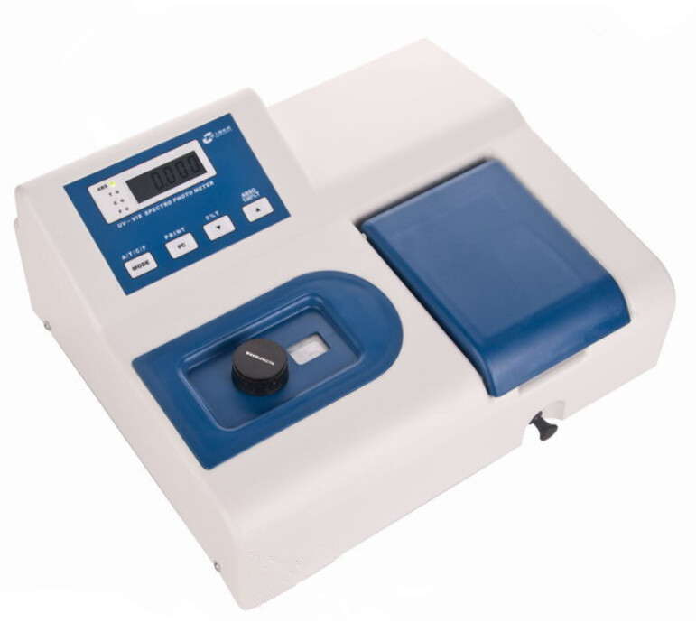 Visible Spectrophotometer V1000 Wavelength Range 360 1020 nm 6 nm Spectral Bandwidth with RS232C port 110V Or 220V