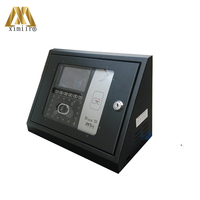 New model Iface702/iface502/iface302 face time attendance metal protect box protect cover with key no include machine