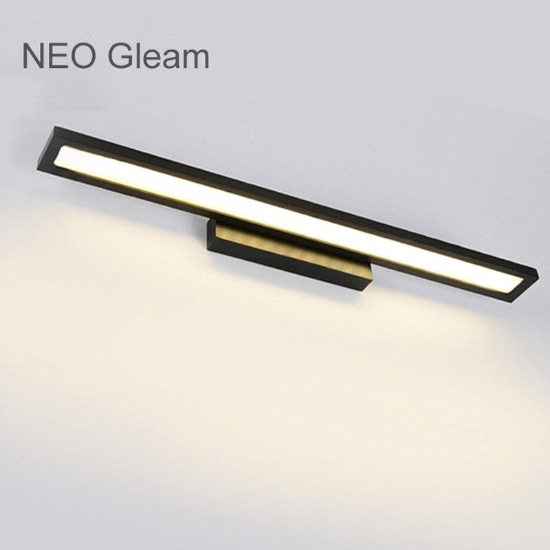 Lâmpadas de Parede neo gleam white/black modern bathroom Tensão : 90-260v