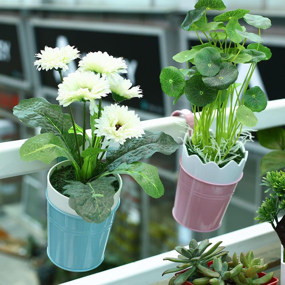 ... Garden B Font Font B Balcony B Font Hanging Chain Flower Planter Pot