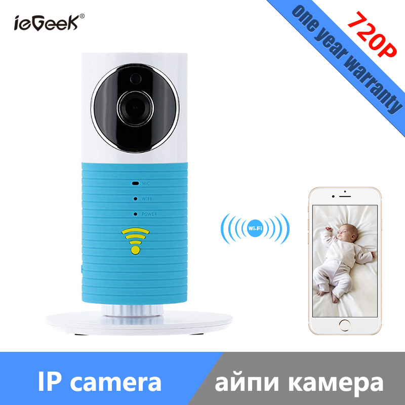 ieGeek 720P HD Home Camera Wireless Mini IP Camera Security Motion Detection 2-way audio Smart Camera with Night vision sricam sp009c 720p hd motion detection wireless home security camera