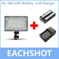 Aputure AL 160 Amaran AL 160 LED Video Light Camera Lighting With Battery And Charger For