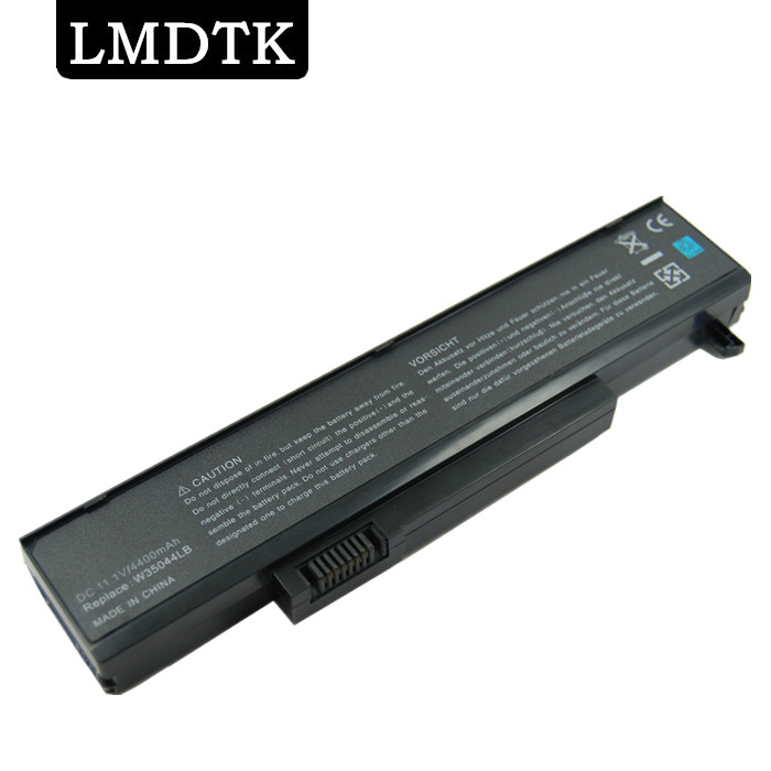 LMDTK New 6cells Laptop Battery FOR GatewayT M SERIES T-1600 M-6829b  M6300 M6700 SQU-715 W35052LB-SP W35044LB Free Shipping
