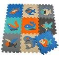 Детские коврики ЕВА Животных пол pad пены ползать коврик дети играют коврики Дети головоломки коврики