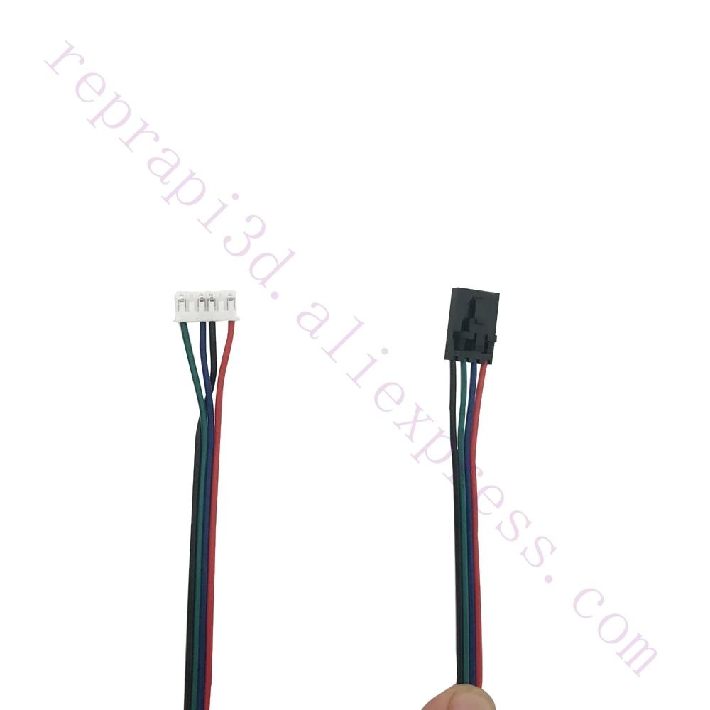 5pcs NAMA17 42 Stepper Motor Cables Compatitable With Mini-Rambo, Einsy Rambo, Rambo 1.3 1.4 F/ Prusa I3 MK2 MK2S MK3 3D Printer