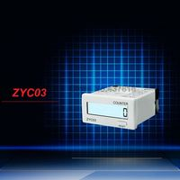 8 Digit LCD Digital Display Counters Electronic Cumulative Counter No External Power Supply ZYC03