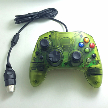10 PCS a lot Transparent wired Gamepad Joystick Game Controller for Xbox