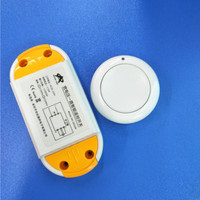 AC85 250V 110V 220V Relay 1CH Wireless Remote Control Switch Receiver Module And RF Round Remote