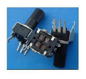 Frete Grátis! 100pc RV09-type potenciômetro ajustável vertical/resistor variável 1 k 2 k 5k 10 k 20 k 50 k 100 k 200k k