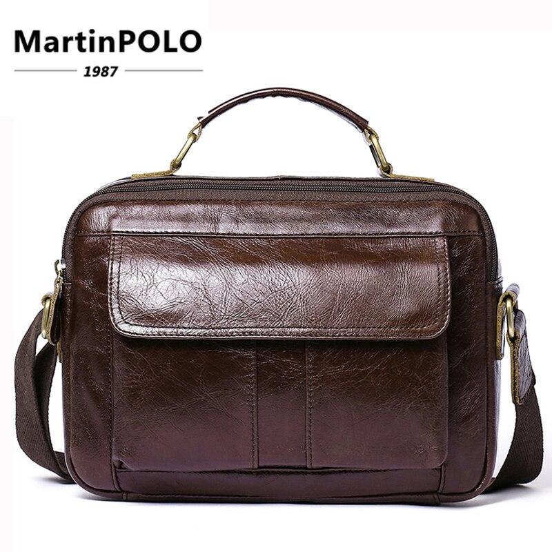 47c80aa7d3cd Сумка для мужчин пояса из натуральной кожи плеча сумки через плечо для s  мужской модная кожаная