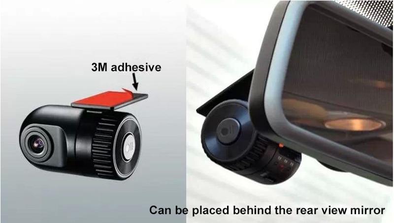 Original Podofo  Mini Car DVR Camera Dashcam Full HD 1080P Video Registrator Recorder G-sensor Night Vision Dash Cam Blackbox11