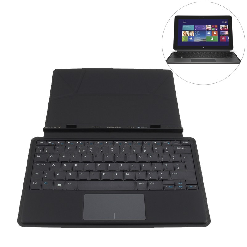 цена на Mobile Tablet Keyboard Case Stand Slim Docking Keyboard Cover For Dell Venue 11 Pro 5130 7130 7139 7140 New keyboard case cover