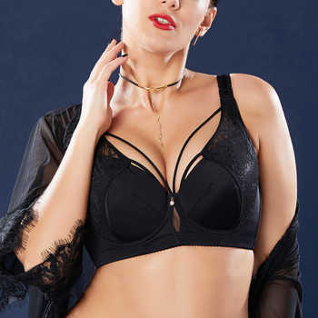 Women's Smooth Lace No Padding Full Cup Support Underwire Bra 34 36 38 40 42 44 46 B C D E F G H I J - DISCOUNT ITEM  29% OFF All Category