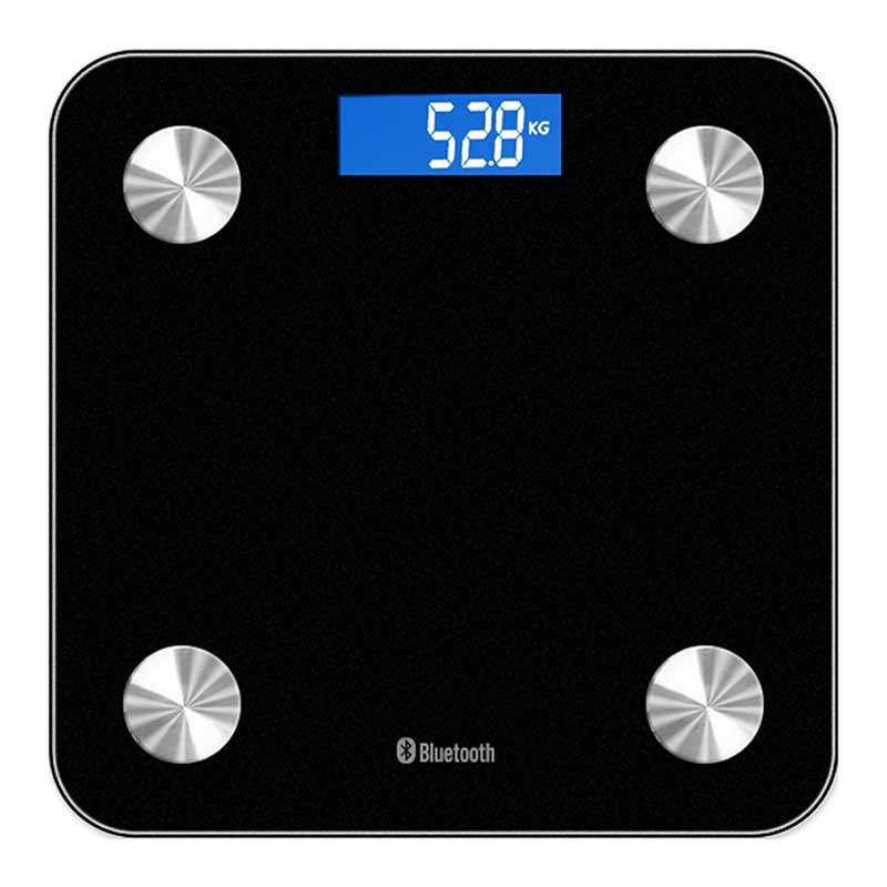 180kg Digital Body Fat Weight Scale Bluetooth Grams Waighing Measure Tools LCD Electronic Bathroom Black White kg lb st title hbwrf 180 lb