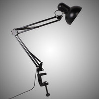 LED Flexible Adjustable Swing Arm Clamp Table Lamp Reading Lighting Fixture E27