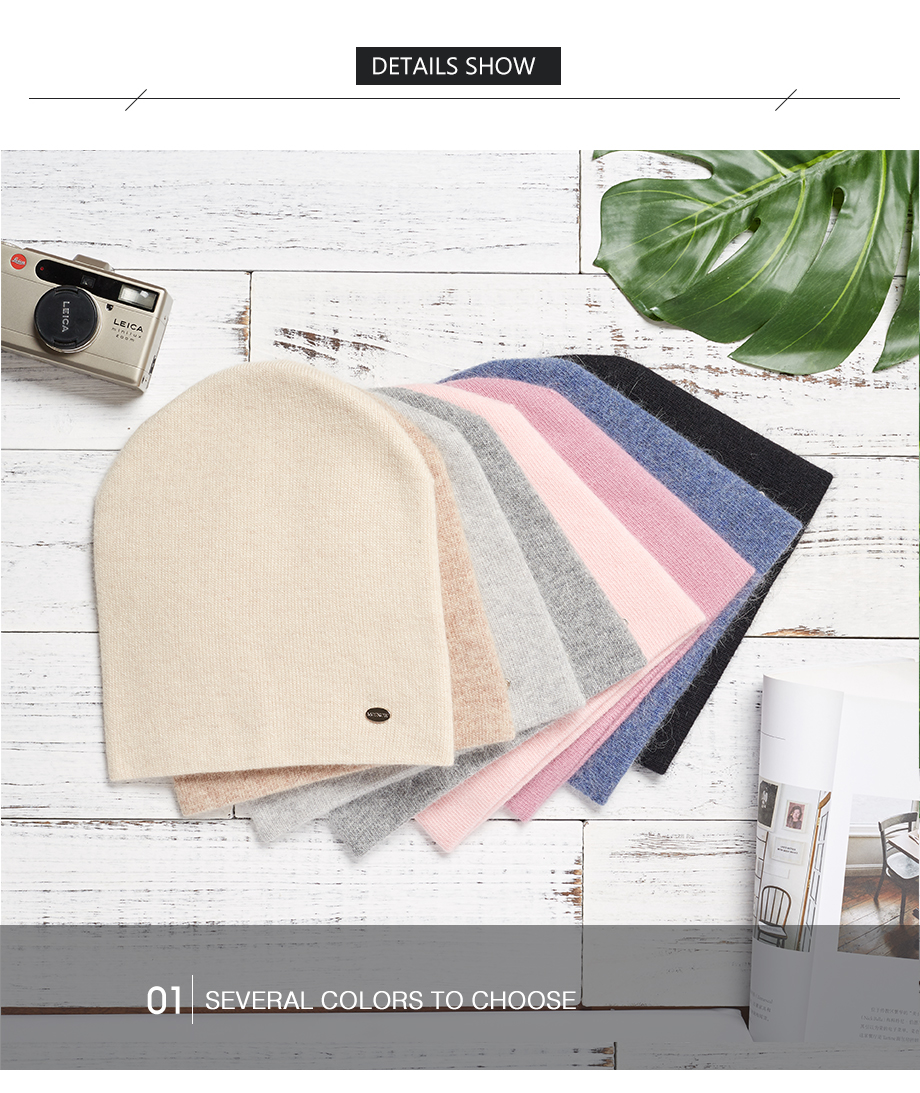 Winter Hats For Woman 2018 New Beanies Knitted Solid Cute Hat Girls Autumn Female Beanie Warmer Bonnet Ladies Casual Cap 8 Color (21)