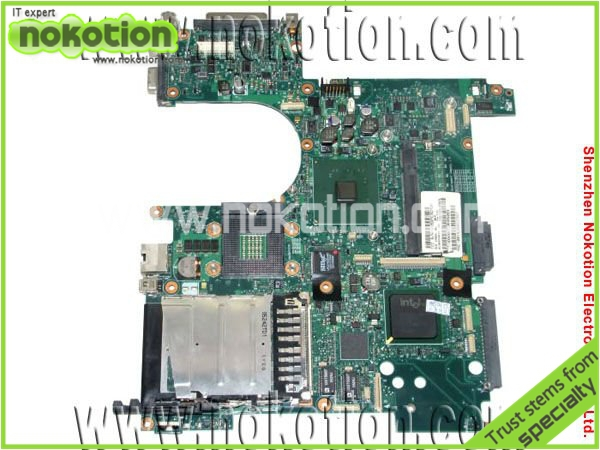 NOKOTION laptop motherboard for HP NC6120 378225-001 INTEL 915GM GMA900 DDR2 Mainboard full tested nokotion 646669 001 laptop motherboard for hp 630 631 635 intel ddr3 mainboard full tested