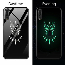 Luminous Batman Superhero Huawei Phone Case