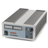 GOPHERT Цифровой Регулируемый лаборатории Импульсные блоки питания постоянного тока OVP/OCP/OTP MCU Active PFC 32 В в 20A 110 V 220 V + ЕС кабель