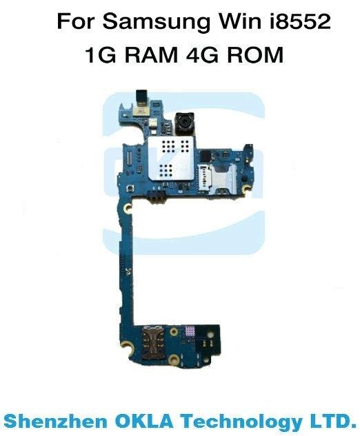 imágenes para 1 unids Para Samsung i8552 Win WCDMA 1G RAM 4G ROM Sustitución de La Placa Lógica Placa Madre original teléfono