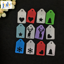 Julyarts Carbon Steel Material Metal Cutting Dies For DIY Scrapbooking Embossing Creative Craft Christmas Decoration