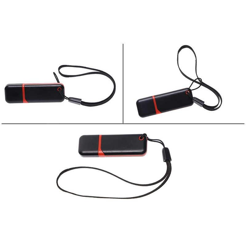 Ascromy 100pcs Colorful Short Wrist Lanyard Strap String For USB Flash Drive Keys Keychain ID Name Tag Badge Holder Camera MP4