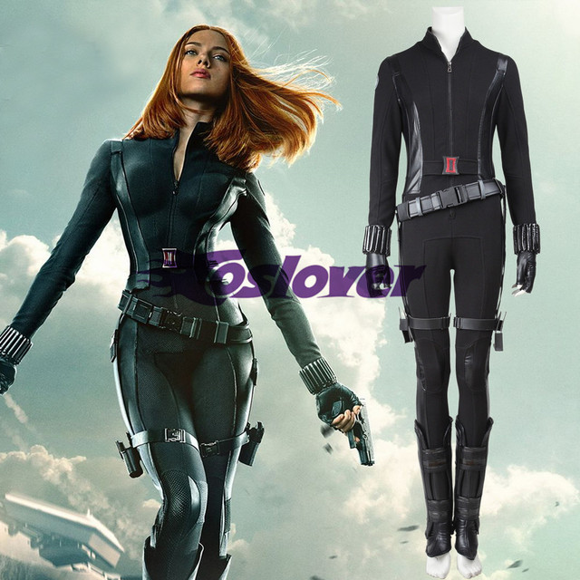 Captain America 2 The Winter Soldier Black Widow Natasha