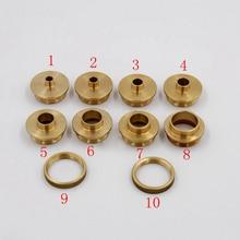 10 pièces/ensemble en laiton routeur modèle Guide bagues Machine de gravure électrique routeur copie collier