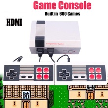 HDMI HD Home Video Game System Retro Classic Game Consoles Built-in 600 Childhood Classic Games Dual Controls for NES