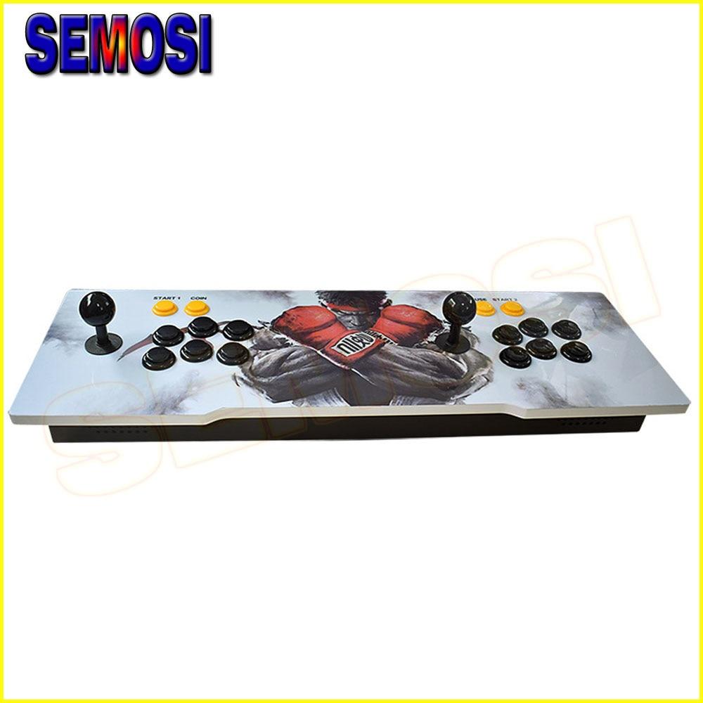 1299 Arcade Spielekonsole 999 In 1 Arcade Doppel Joystick Spiel Maschine Mit Hdmi Vga-ausgang Für Pc/tv/sp3 Neueste Technik