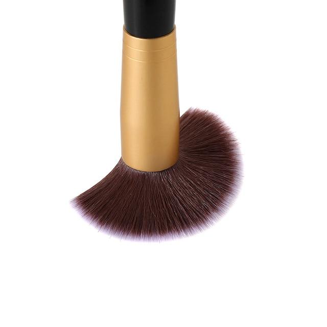 2019 Professional Cosmetic Makeup Brushes Set Powder Blusher Eyebrow Eyeshadow Foundation Brush Makeup Tool Pincel Maquiagem 4