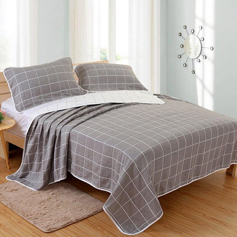 Muslin 6 layers Cotton Soft Baby Bedding Blankets Summer Kids Girls boy Bath Baby Blanket Gauze