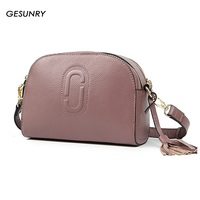 GESUNRY 2017 New Fashion Leather Handbags Shoulder Bag Casual Small Package Cowhide Bag