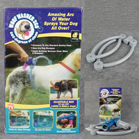 Pet Dog Cat Bathing Cleaner 360 Degree Shower Tool Kit Cleaning Woof Washer 360 By