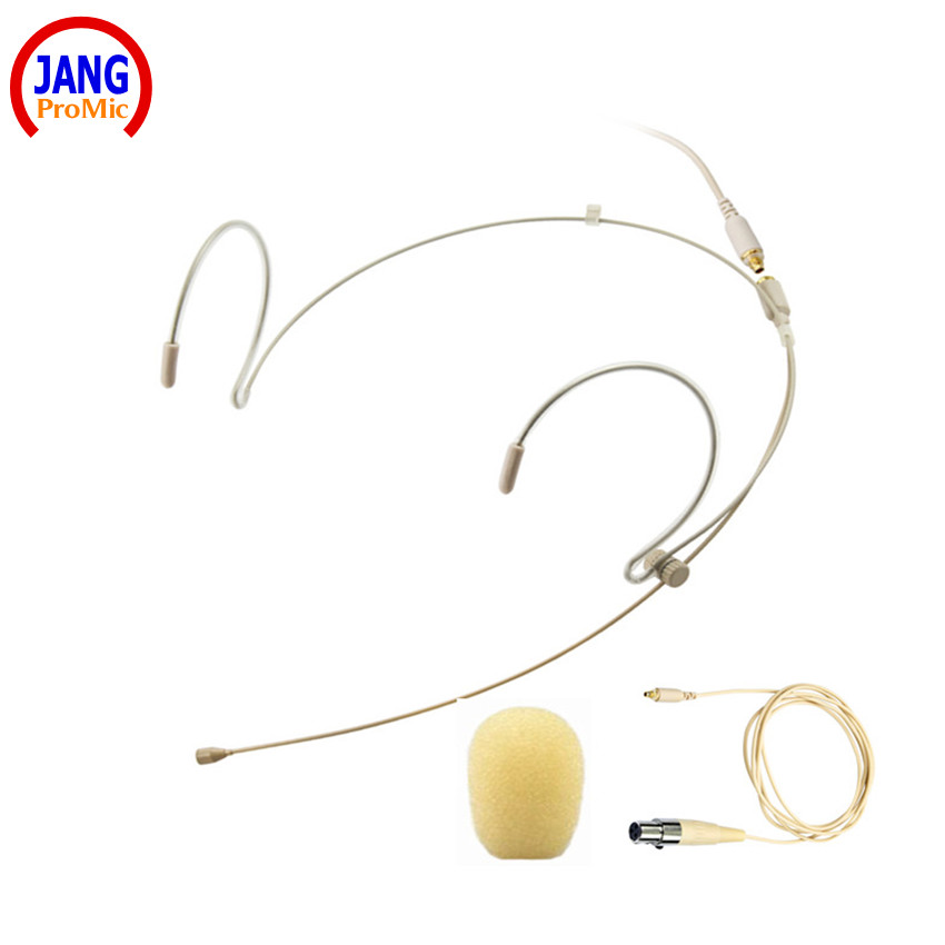 Professionele Headset Beige Condensator Microfoon Host Headworn - Draagbare audio en video - Foto 1