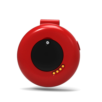 Stylish S9 Elderly Smart GPS Positioning Locator Smart Pocket Watch Support Small SIM Phone Card Two-way Call SOS Red