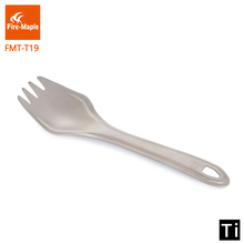 цена на Fire Maple Outdoor Lightweight Portable Climbing Camping Trip Travel  Titanium Spork FMT-T19