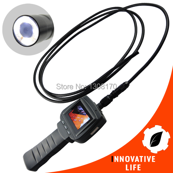 3M Cable Industrial 2.4 TFT LCD HD Endoscope 9mm Camera Borescope Video Inspection 4 LED Snake Tube Drain Pipe explorer 8807al inspection camera boroscope 1m cable 4 5 mm 3 5 lcd recordable wireless inspection camera video borescope