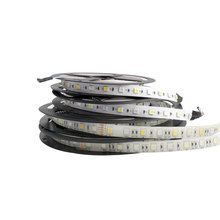 DC 12 V Led Strip light SMD 5050 RGBW RGBWW Waterproof 5M 60LED/M DC12V flexible LedStrip neon Ribbon Tape Lamp Diode