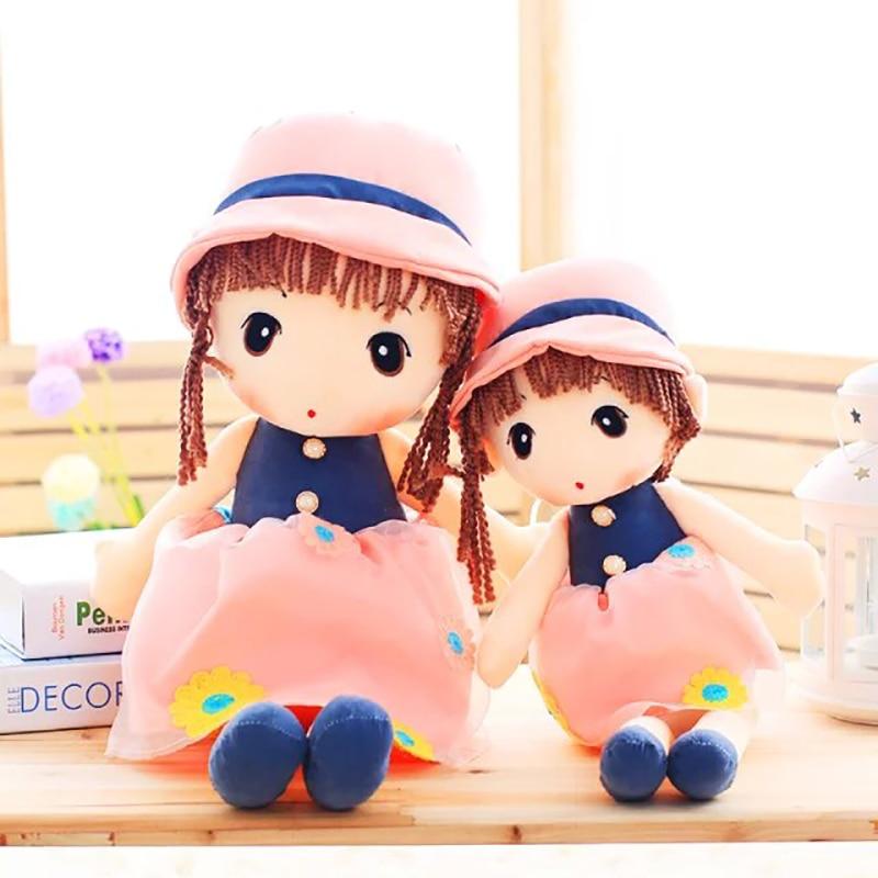 55cm / 40cm Plush Cute Cartoon Flower Fairy Doll Children's Toys Send Girls The Best Birthday Christmas Gifts Toys For Girls