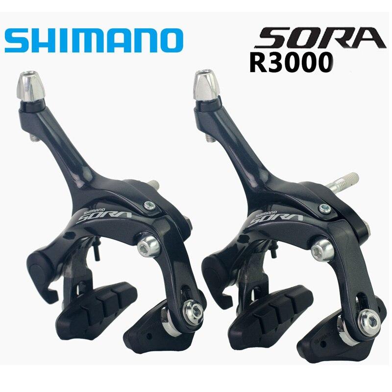 Shimano Sora BR 3000 Road Bike Brake Caliper Set Calipers Pair Front Rear