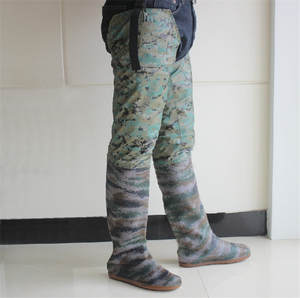 Shoes Wade-Boots Fishing-Waders Forest Waterproof Suitable Non-Slip Beach Thigh-Height