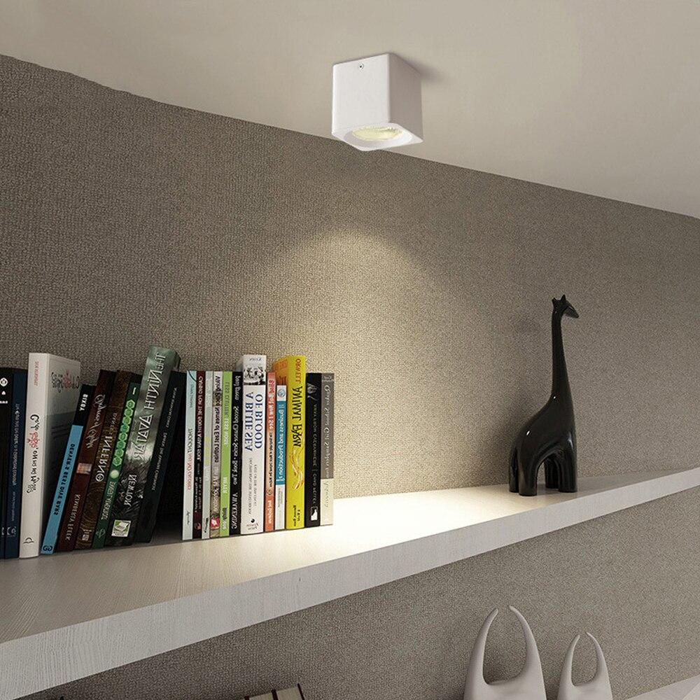 Image 5 - Lámpara LED de techo montada en superficie cuadrada DBF de 10W/20W/30W, foco de techo AC85 265V con controlador LED de 3000K/4000K/6000KLuces para el techo   -