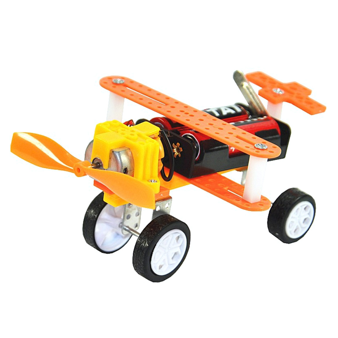 Single-engine Taxiing Children Physical Science Electrical Experiment Kits Stem Toy Diy Educational Science Kits Student Toys
