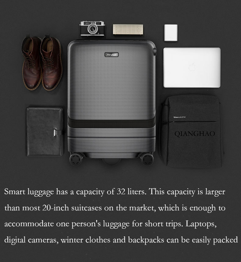 Smart follow suitcase 42